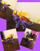Spyro Sculpture by griffin126