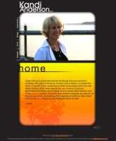 Kandi Anderson - Finished Website by PaulWhipps