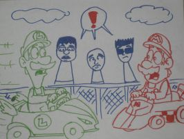 mario kart krash by tallcartoons123