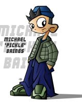 Micheal 'Pickle' Baines by bainesyfellah