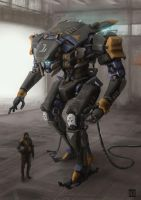 Mech-001 by AndyND