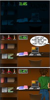 The 5 Stages of Procrastination by UntouchedDesigns