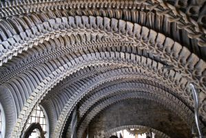 Giger Bar ceiling by HORSEKING
