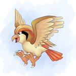 Pidgeot Coloration by Whimsical-Cotton