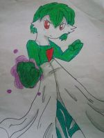 Jacob the male gardevoir (fanart) by Analisathegardevoir