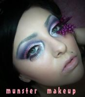 butterfly inspired by munstermakeup
