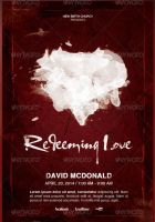 Redeeming Love Church Flyer Template by loswl