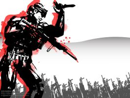 Metal Gear Solid wallpaper 2 by cmico2