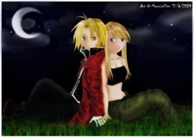 Edward x Winry - Final by MercurialXen
