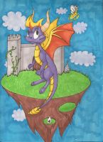 Spyro the Dragon Prisma by snafuangel