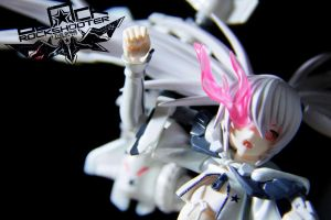 Figma White Rock Shooter by Grims-Garden00