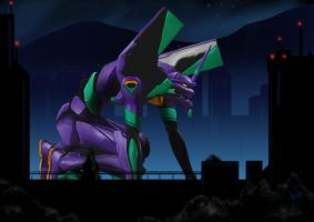 EVA Unit 01 by aaydo