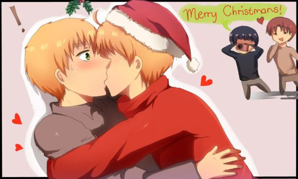 Merry Christmas USUK by Aleriy