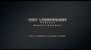 Ron Wasserman Q and A Background For Podcast by GoldRangerKicksass