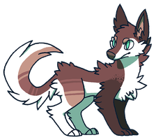 (CLOSED) Wolf Adopt 1 by Kaweki