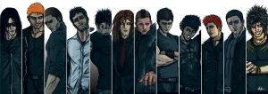 The Black Dagger Brotherhood by Saxon-Blake
