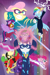 THE POWER PONIES by nanook123
