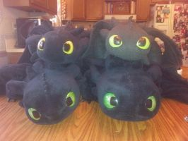 Pile o Dragons by Super3dcow