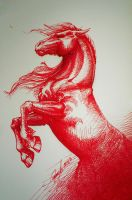 Roni - Red Horses by candybg
