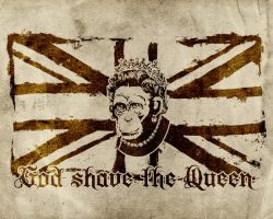 God Shave The Queen by MagusMainyu