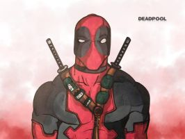 Deadpool Draw by andyNroses