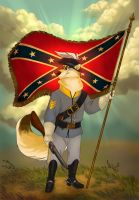 Stars and Bars Forever by ThisCrispyKat