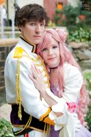 Euphemia and Suzaku I by EnchantedCupcake