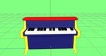 Learn to Play Piano with keys (mmd accessory dl) by SteelDollS