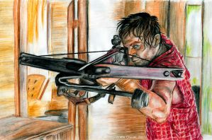 the Walking dead - Daryl Dixon by the-ChooK