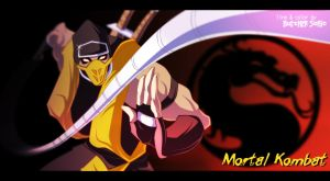 Mortal Kombat. Scorpion color by ButcherSonic