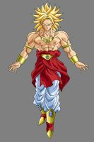 Broly - Super Saiyan by OriginalSuperSaiyan