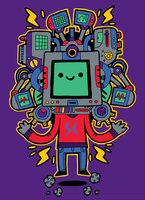 Mr Supercomputer by captainalec