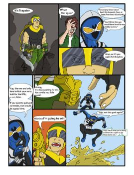 Spiderman Weaver Comic pg6 by KGH786