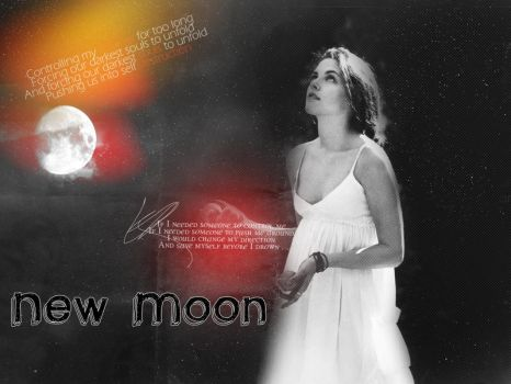 Bella - new moon by Amarillia31