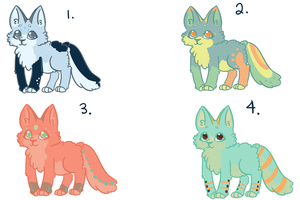 Adoptable set 2 {CLOSED} by TheSquiggler