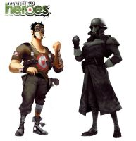 Battlefield Heroes Characters by morot