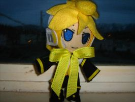 Len in his Easter clothes by 12KingDedede12