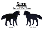 Xero's Wolf Form by MagpieWarrior