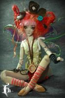 BJD doll House Fairy by Aidamaris Forgotten Heart by FHdolls