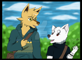Friendly Conversation by Battouga-Sharingan