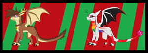 Christmas Eggs HATCHED .:CLOSED:. by WinterTheDragoness