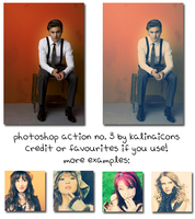 Action no. 3 by kalinaicons by kalinaicons