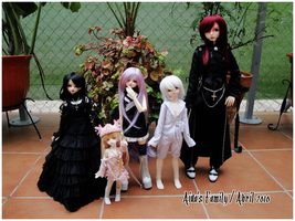 BJD Family - April 2010 by AidaOtaku