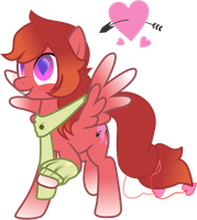 12th Free Pony Request - LoveStruck Poneh by Chumi-chan