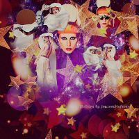 the edge of glory with Gaga by gagauniverse