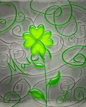 March Clover by icedragonenflamed