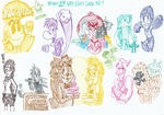 My 20th Birthday's Doodle Part 9 by FelixToonimeFanX360