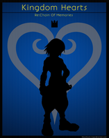 Kingdom Hearts Re:Chain Of Memories Poster: Riku by Mysitc-Mage