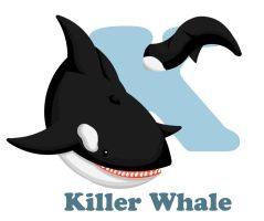 K is for Killer Whale by RSImpey