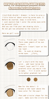 Anime Eye Coloring Tutorial by armenci